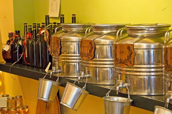 Olive oil shop in Placerville