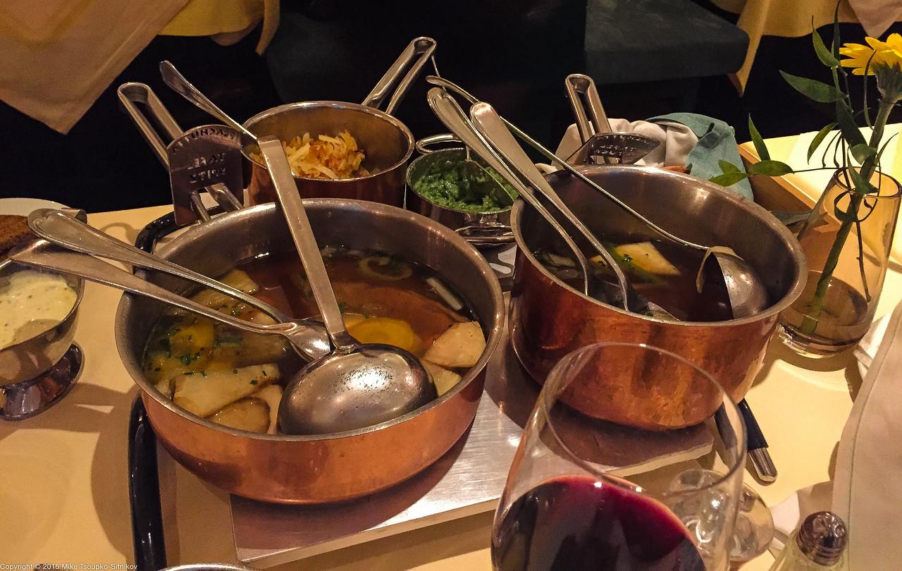 vienna: dining at plachutta