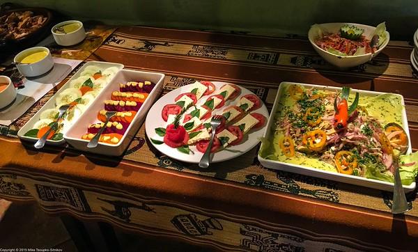 Food at Colpa Lodge