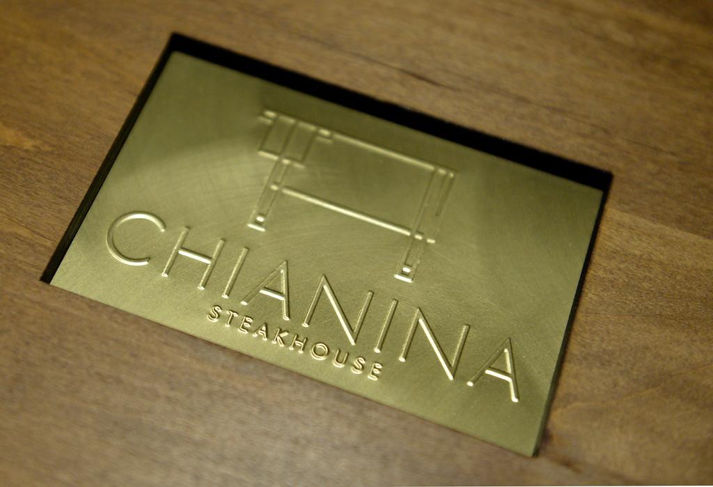 . Chianina Steak in Long Beach, CA. December 18, 2013. The new restaurant will be open on December 27th. (Thomas R. Cordova/Press-Telegram/Daily Breeze)