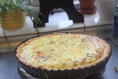 160412 Asparagus- and Cheese Flan