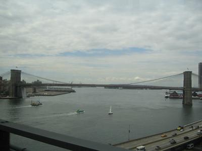 span of the Brooklyn Bridge