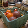 tomatoes! (and other ingredients around the periphery)