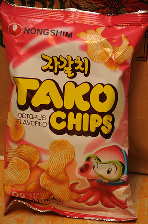 Octopus-Flavored Chips