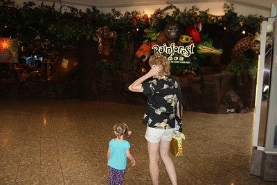 20100607 Rain Forest Cafe' - Wood field 003