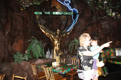 20100607 Rain Forest Cafe' - Wood field 052