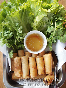 Banh Mi Saigon Fried Spring Rolls