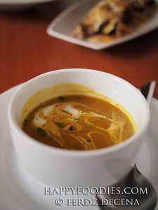 Cinammon Pumpkin Soup