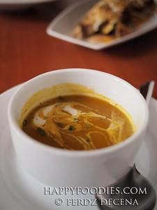 Cinammon Pumpkin Soup