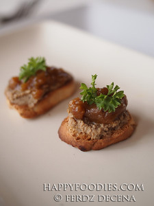 Chicken Liver with Mango Chutney