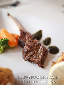 Oven Baked Rack of Lamb