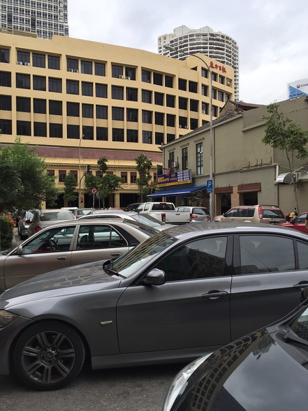 Parking is scarce on the outside. Watch out for friends from DBKL!