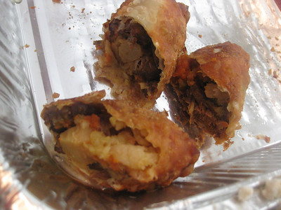 Oxtail Egg Rolls