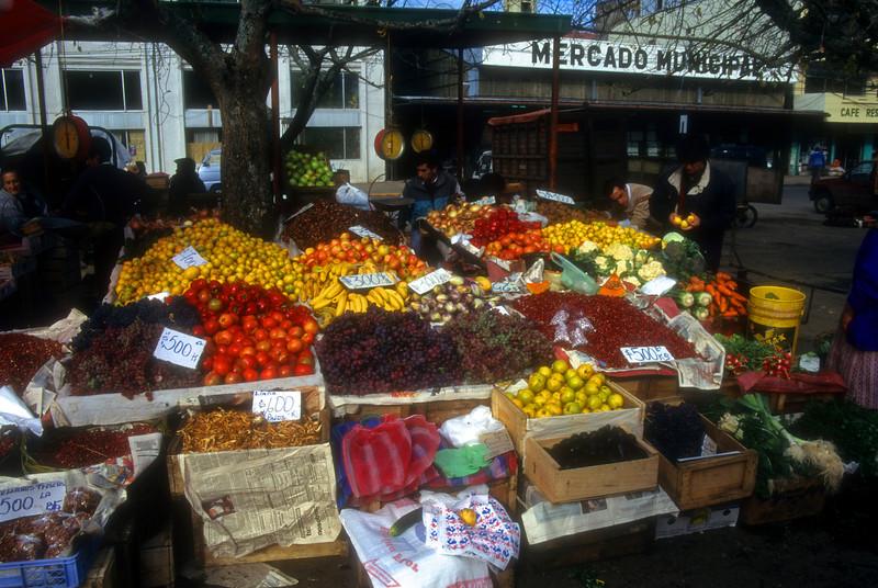 Fruit Market Valdivia, Chile