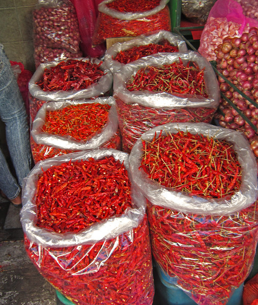 Lots of chiles