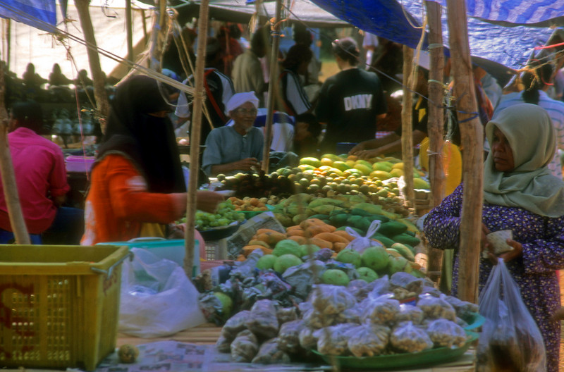 Fruit Market Sindaken Borneo, Maylasia