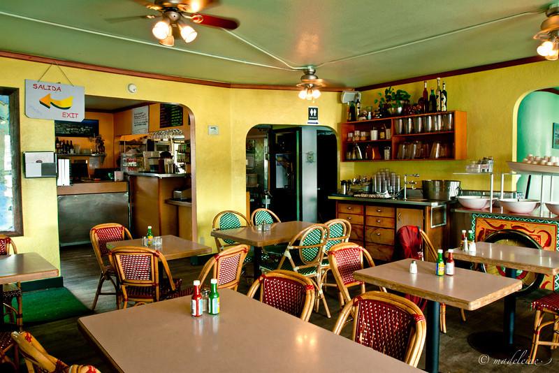 Agua Verde Cafe Interior