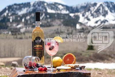 Alpine Outdoors - wine glass-09815