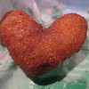 "A heart shaped pop corn fritter my friend had that I had to quickly take a pic of before she ate it at Old #1 (Friday, May 9th 2014)<br /> <br /> Why You Gotta Be So Rude - Marry That Girl <br /> <a href=""https://youtu.be/gTyE6WY1Llk"">https://youtu.be/gTyE6WY1Llk</a><br /> <br /> ""Cruel"" (working at the group home feelings)<br /> <a href=""https://vimeo.com/136770127"">https://vimeo.com/136770127</a><br /> <br /> <br /> Monday morning got out of bed<br /> And put on my work clothing<br /> Got in my bike and pedaled like a cheetah<br /> All the way to my job<br /> Entered at work with compassion in my heart<br /> To ponder a question<br /> 'Cause I know that you're set in your old ways, yeah<br /> <br /> Can you keep personal space?<br /> Say yes, say yes 'cause I need to work<br /> You say I'll never get your blessing 'til the day I retire<br /> Happy day, my friend, but the answer is 'No'<br /> <br /> Why you gotta be so cruel?<br /> Don't you know I'm a workin' too?<br /> Why you gotta be so cruel?<br /> I'm gonna ask for personal space anyway <br /> Forgive that person<br /> forgive him anyway<br /> Forgive that person<br /> Yeah, no matter what you do<br /> forgive that person<br /> And we'll be friends<br /> Why you gotta be so<br /> Cruel<br /> <br /> I don't like to do this, you leave no option<br /> Can't work without him<br /> Love me or dislike me we will be boys<br /> Standing at that bathroom<br /> Or we will run away<br /> To another toilet, you know<br /> You know he loves playin' with me<br /> He will go anywhere I go<br /> <br /> Can I have personal space for the rest of the work day?<br /> Say yes, say yes 'cause I need to work<br /> You say I'll never get your blessing 'til the day I retire<br /> Happy day, my friend, 'cause the answer's still 'No""<br /> <br /> Why you gotta be so cruel?<br /> Don't you know I'm workin' too?<br /> Why you gotta be so cruel?<br /> I'm gonna keep personal space anyway<br /> <br /> Why you gotta be so cruel?<br /> Don't you know I'm workin' too?<br /> Why you gotta be so cruel?<br /> I'm gonna ask for personal space anyway <br /> Forgive that person<br /> forgive him anyway<br /> Forgive that person<br /> Yeah, no matter what you do<br /> forgive that person<br /> And we'll be friends<br /> Why you gotta be so<br /> Cruel<br /> Cruel<br /> <br /> Can I have personal space rest of the work day?<br /> Say yes, say yes 'cause I need to work<br /> You say, I'll never get your blessing 'til the day I retire<br /> Happy day, my friend, but 'No' still means 'No'!<br /> <br /> Why you gotta be so cruel?<br /> Don't you know I'm workin' too?<br /> Why you gotta be so cruel?<br /> I'm gonna forgive him anyway<br /> <br /> Why you gotta be so cruel?<br /> Don't you know I'm workin' too?<br /> Why you gotta be so cruel?<br /> I'm gonna ask for personal space anyway (stop)<br /> Forgive that person<br /> forgive him anyway<br /> Forgive that person<br /> Yeah, no matter what you do<br /> forgive that person<br /> And we'll be friends<br /> Why you gotta be so<br /> Cruel<br /> Why you gotta be so cruel?<br /> <br /> Magic! - Rude (Karaoke Version) <br /> <a href=""https://youtu.be/QQre5RbiyGM"">https://youtu.be/QQre5RbiyGM</a><br /> <br /> Ed Sheeran - Thinking Out Loud [Official Video] <br /> <a href=""https://youtu.be/lp-EO5I60KA"">https://youtu.be/lp-EO5I60KA</a><br /> <br /> <a href=""http://smu.gs/1KwKIqt"">http://smu.gs/1KwKIqt</a><br /> <br /> <br /> <a href=""http://www.dailymotion.com/video/x27qh2t_ed-sheeran-thinking-out-loud-karaoke-version-karaokex_music"">http://www.dailymotion.com/video/x27qh2t_ed-sheeran-thinking-out-loud-karaoke-version-karaokex_music</a>"