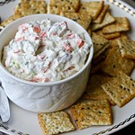 Garlic and Vegetable Cheese Spread Recipe