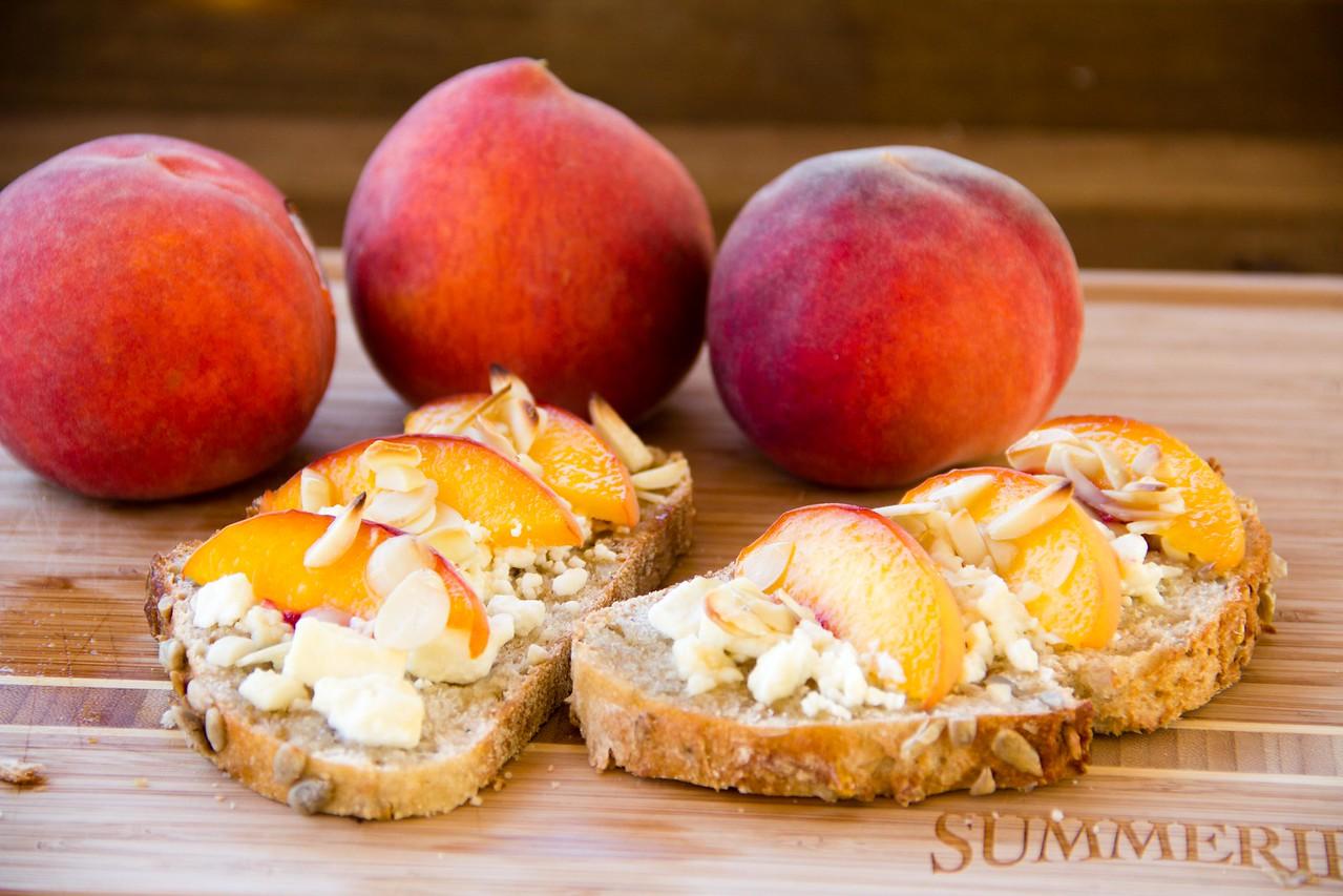 Summeripe Sweet Peach Toastie