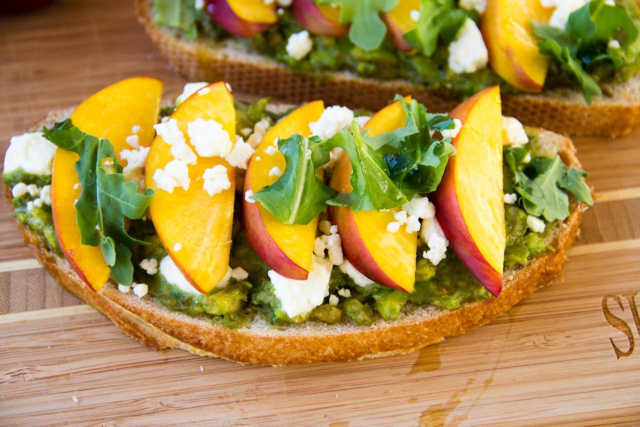 Summeripe Nectarine & Avocado Toast