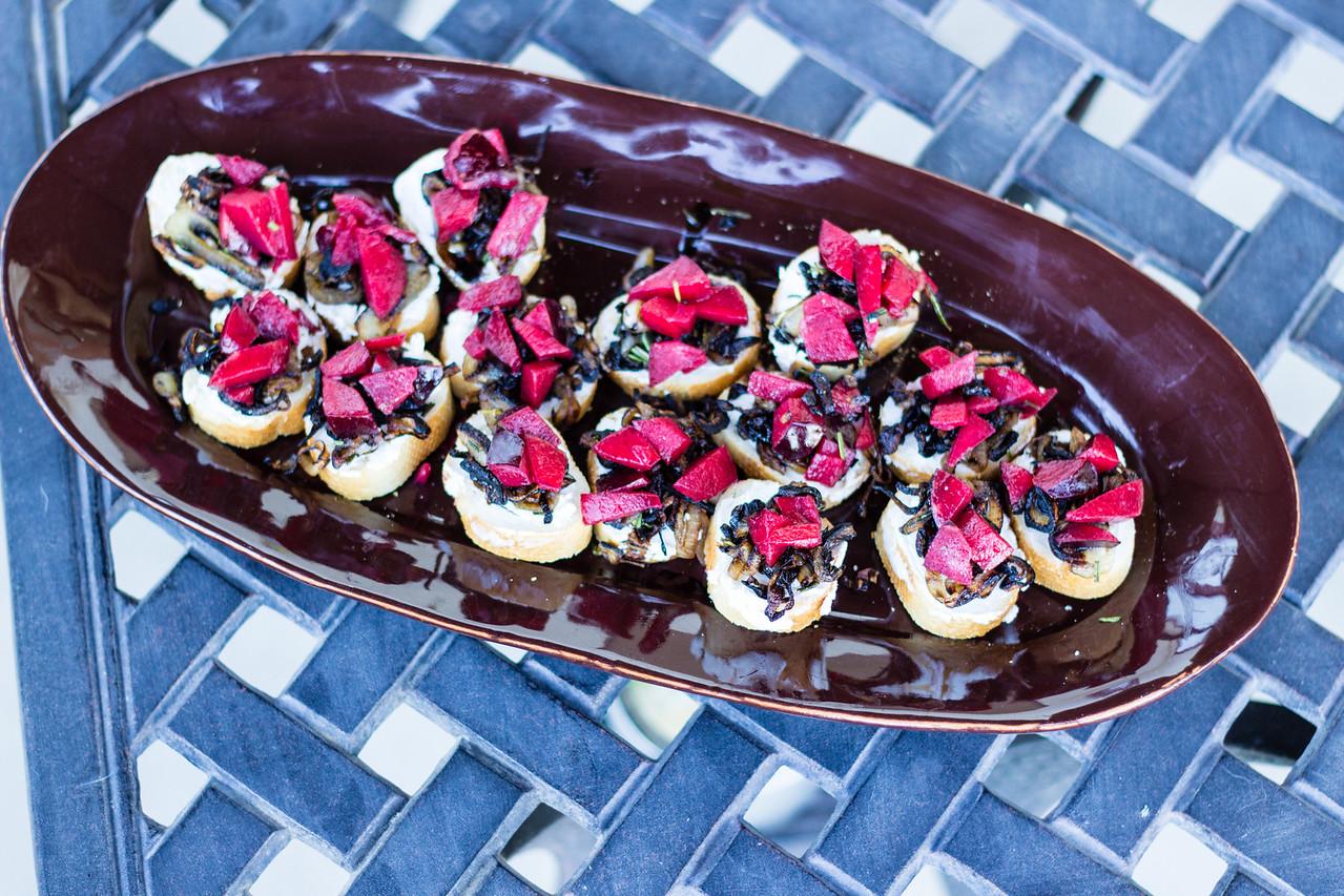 Peggy's Kitchen Summeripe Recipes bruschetta