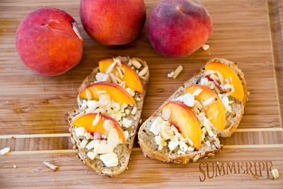 Summeripe Sweet Peach Toastie