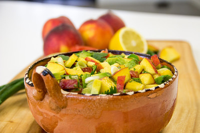 Summeripe Peach Salsa from The Kitchen at Summeripe