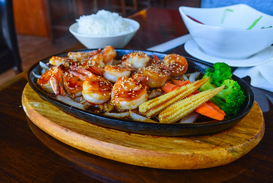 Shrimp Teriyaki