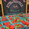strawberry display