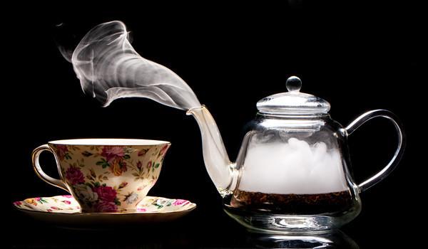 Aviary Tea and Dry Ice