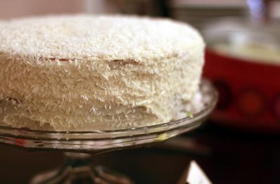 Kristin's Coconut Cake