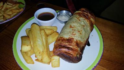 Roast Beef Yorkie Burrito