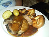 "Roast Beef. Served in ""Two Mile Oak"" near Newton Abbot<br /> <br /> 29/06/14"
