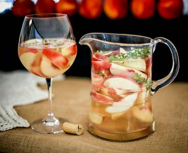 Summeripe White Peach & Thyme Sangria