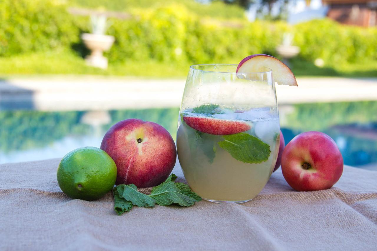 Summeripe White Peach Mojito