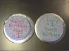 Twin Girl Smash Cakes