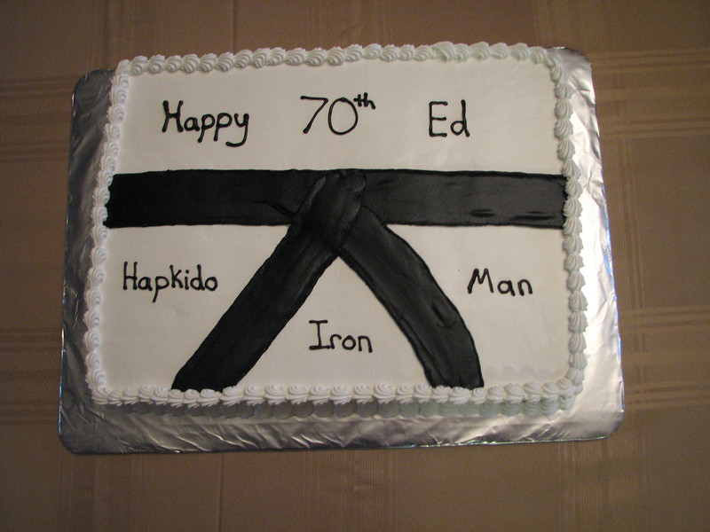 Hapkido Birthday