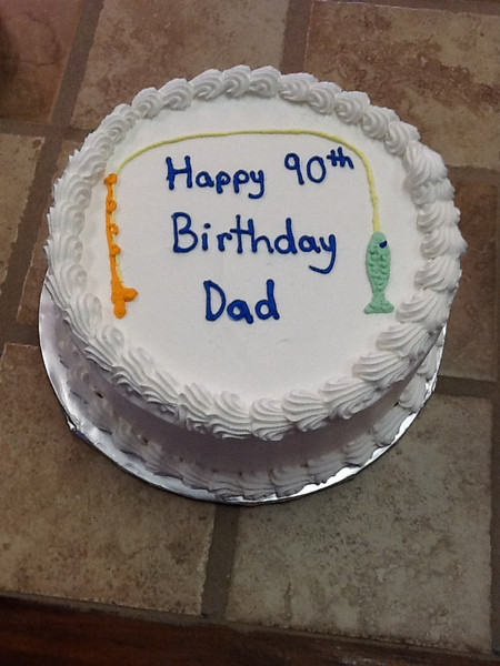 Happy Birthday Dad-Fishing