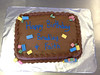 Chocolate Lego Cake