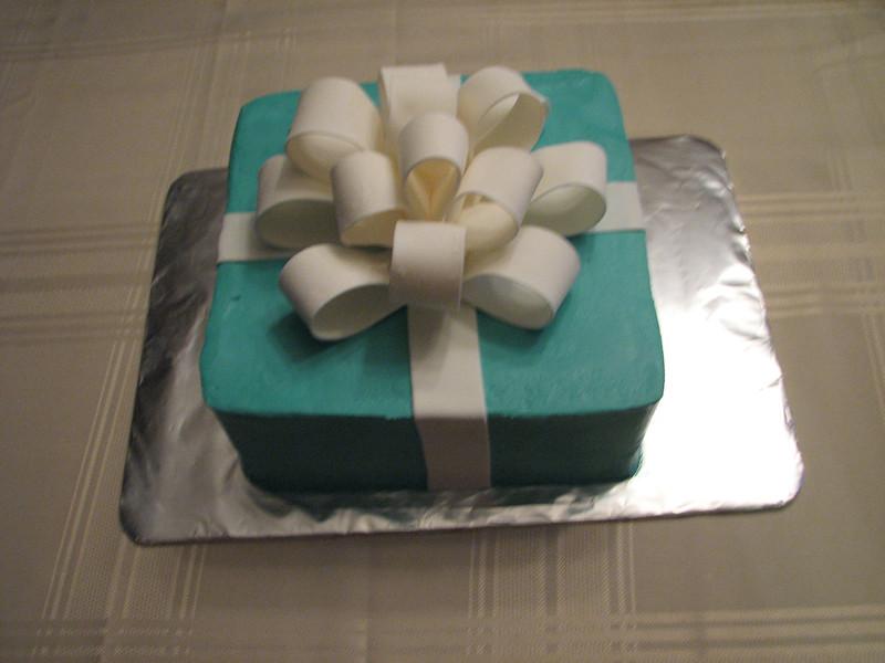 Tiffany's Box Cake