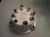 50th Birthday Strawberry Shortcake