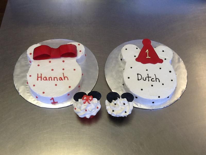 Mickey & Minnie 1st Birthday