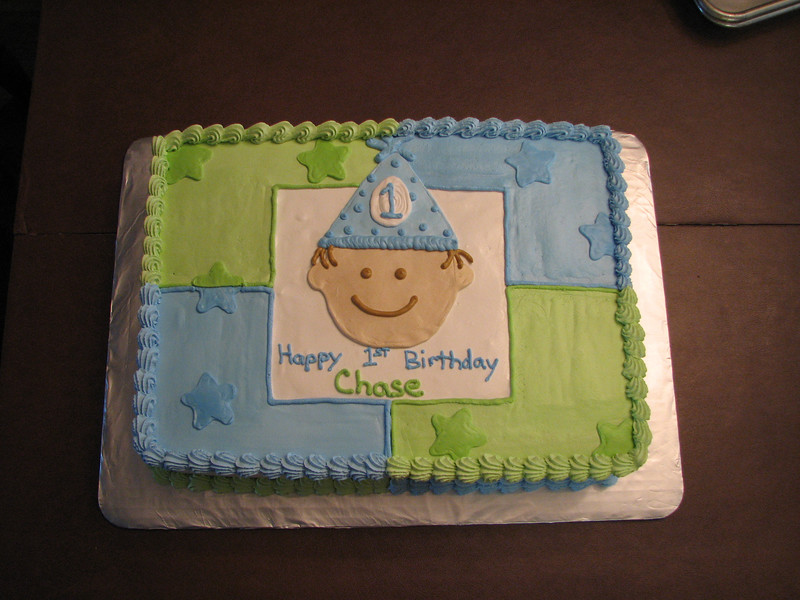First Birthday-Boy
