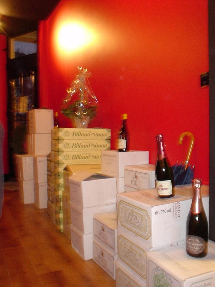 The wines of Winery de Fontaine