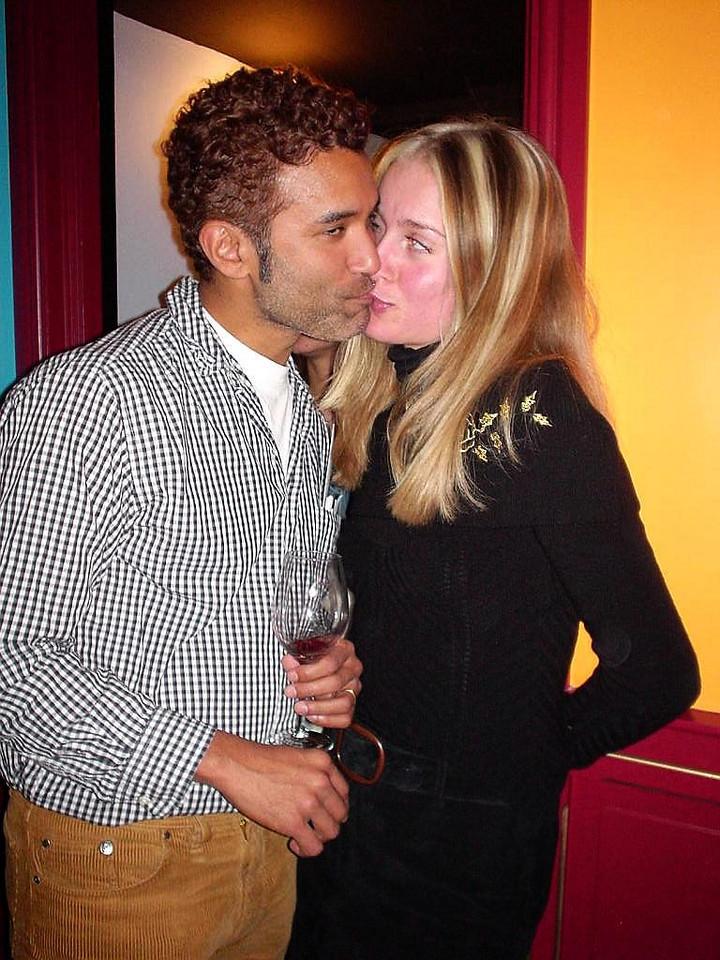Richard and a girlfriend ;)