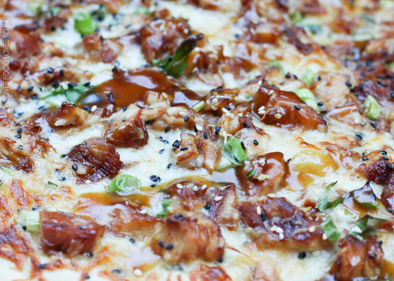 Chicken Teriyaki Pizza (AKA Seattle SeaChicken TeriHawki Pizza) | Loves Food, Loves to Eat