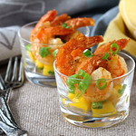 Spicy Citrus and Mango Shrimp Cocktail