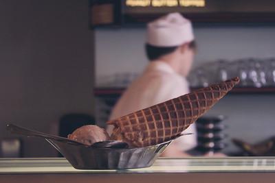 @The Ice Cream Bar in S.F.